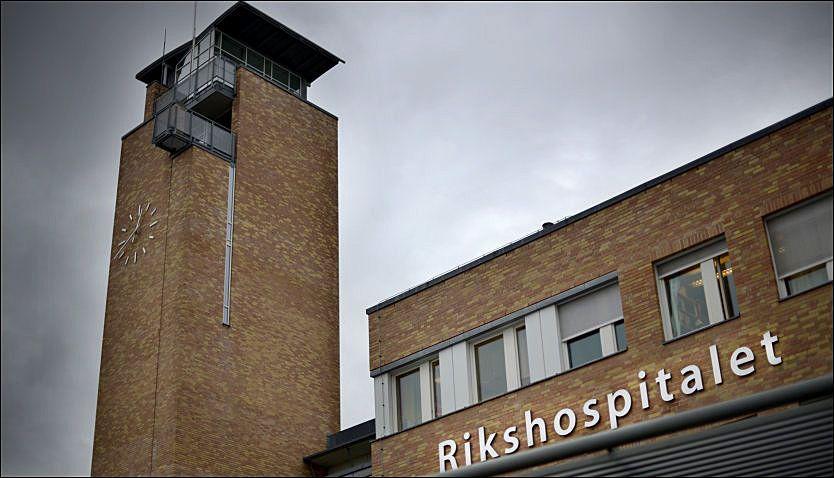 MELDTE SELV: Oslo universitetssykehus har selv meldt to dødsfall fra oktober til politiet. Her Rikshospitalet. Foto: ROBERT EIK