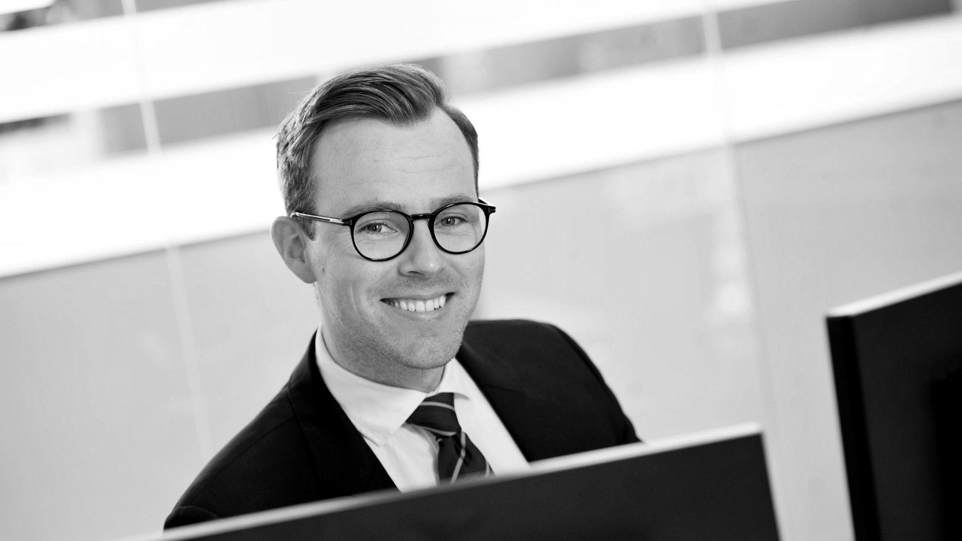 Finansprofil Fredrik Stene deler sine beste tips med dagens økonomistudenter.
