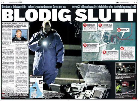 VG I DAG: Les mer om hva som skjedde i småbåthavnen i Ålbæk i dagens VG (08.01.13).