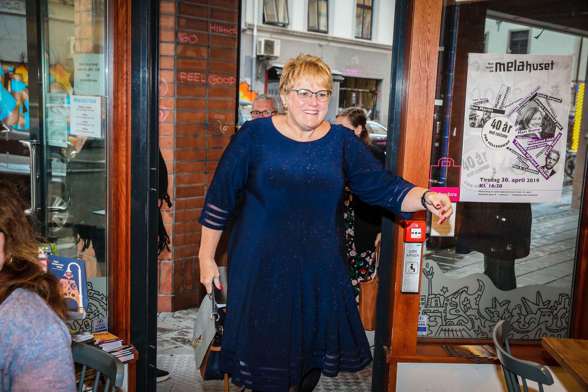 Kulturminister og Venstre-leder Trine Skei Grande.