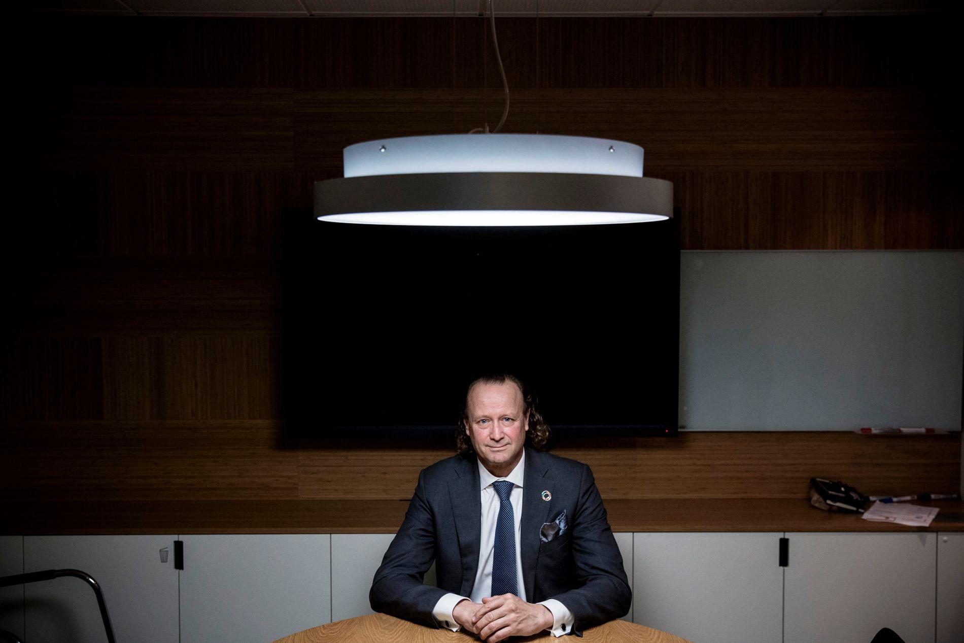 VIKTIG JOBB: - Jeg mener at vi løser et viktig samfunnsoppdrag, ved at flere sparer smartere og får mer igjen for det de investerer, sier Storebrand-sjef Jan Erik Saugestad.