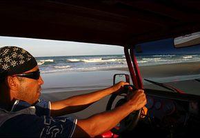 Strand-rally i sanddynene