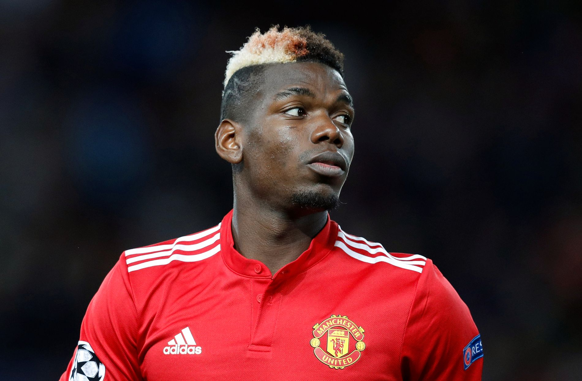 OVER ET ÅR UTEN TAP: Paul Pogba, her under kamp mot CSKA Moskva, taper nesten aldri i Premier League.