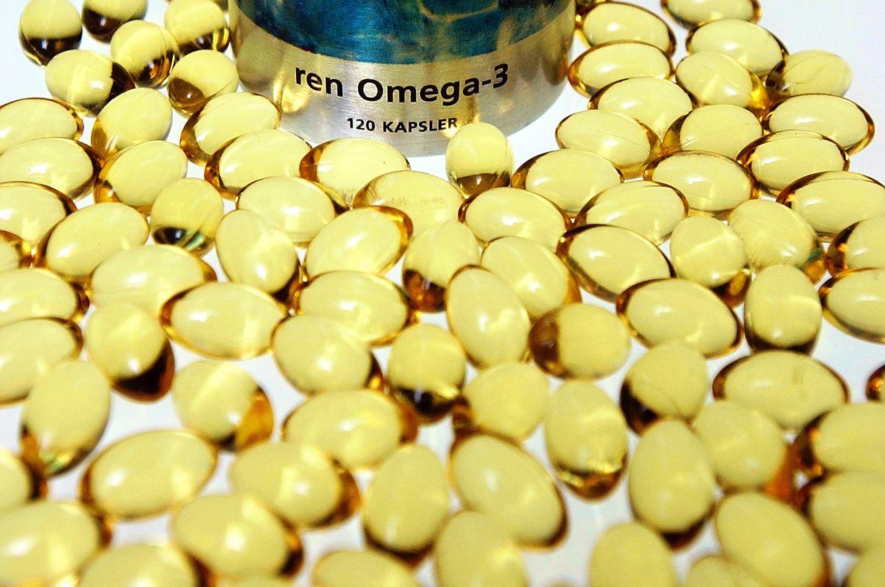 BEGRENSET: Spiser du Omega 3-tilskudd? Det er ikke sikkert det er nødvendig.