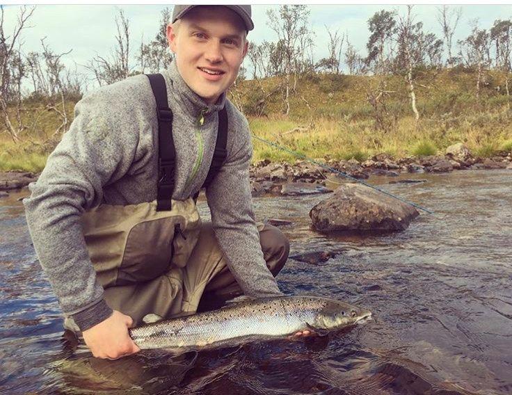 PÅ JOBB: Håvard Pedersen døde kort tid etter å ha blitt knivstukket på jobb i Vadsø i sommer.