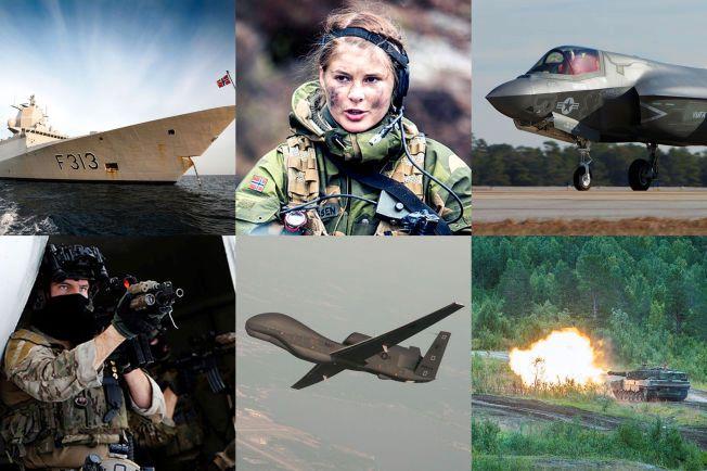 VIL MODERINSERE: Droner, nye jagerfly, oppgraderte stridsvogner, satsing på Etterretningstjenesten og Nordområdene. Dette er bare noen av forslagene i forsvarssjefens forslag til fremtidens forsvar.