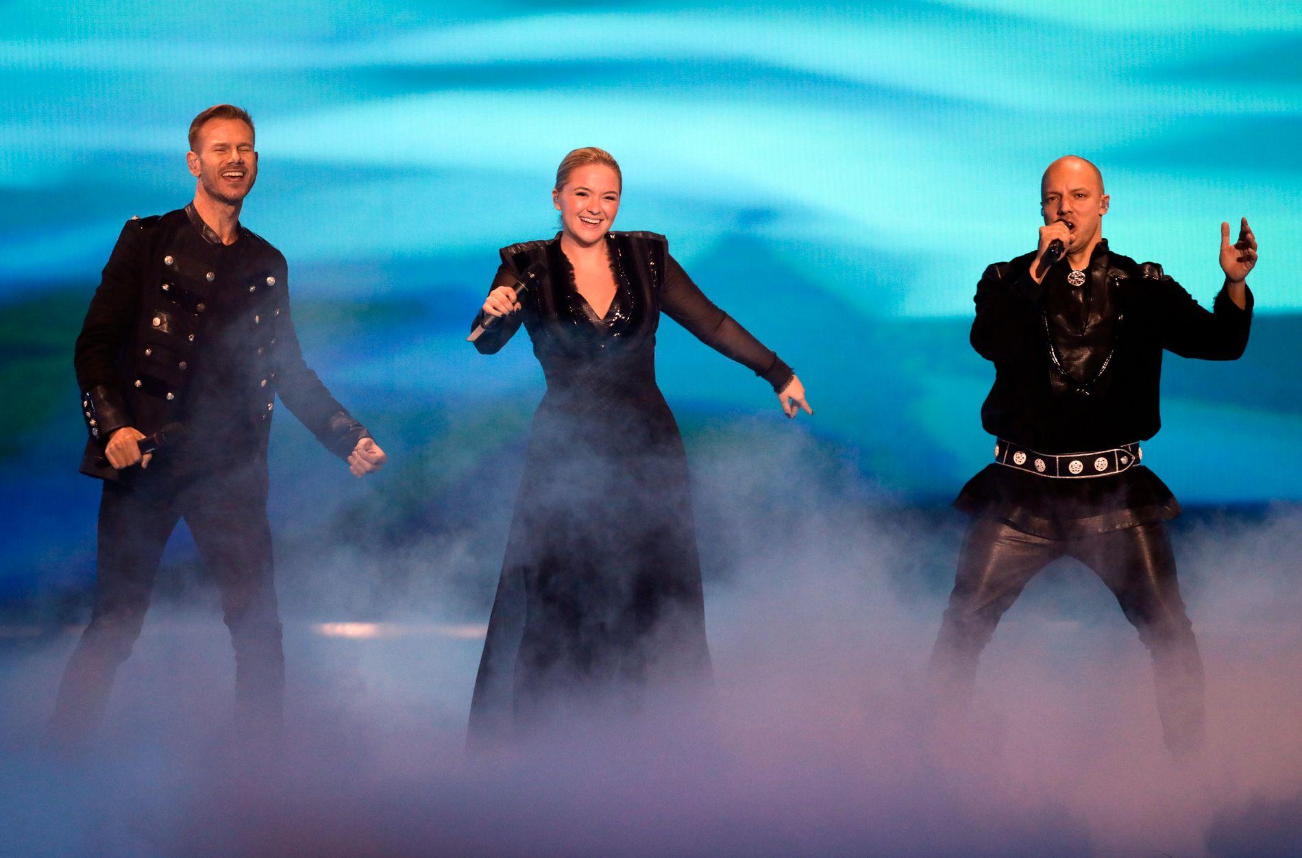 KEiiNO: Norge kom på en femteplass i Eurovision song contest.