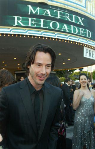 Keanu Reeves spiller Neo, hovedrollen i «Tha Matrix»-filmene
