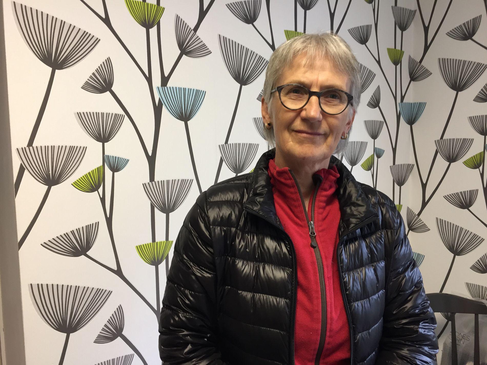 FRISK: Lærer Marit Mjøen ved Meldal videregående skole fryktet det verste da hun følte seg svimmel og kvalm. – Heldigvis var det bare en rus, sier hun i dag.