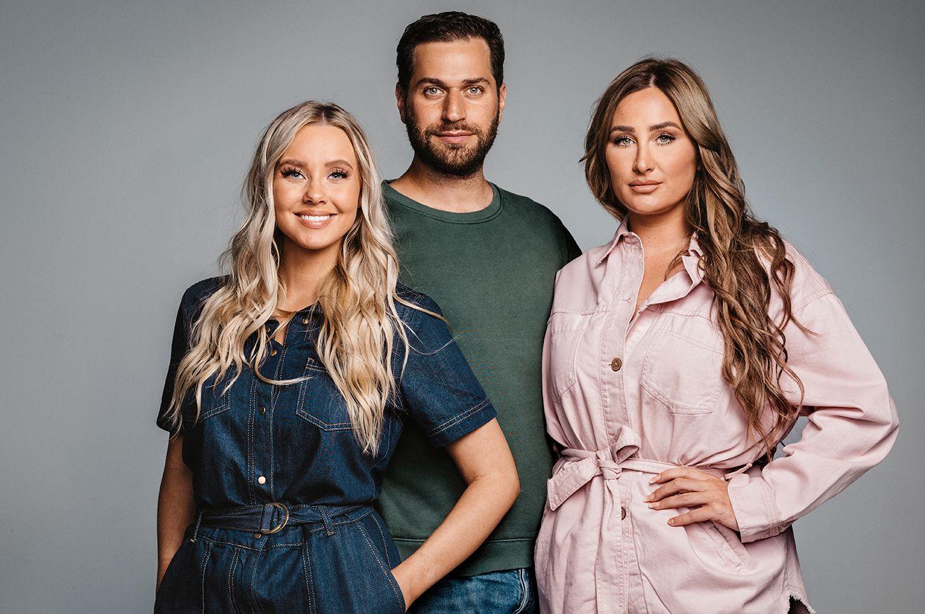 «GLOW UP»: Martine Lunde, Tomas Erdis og Dajana Tomanovic.