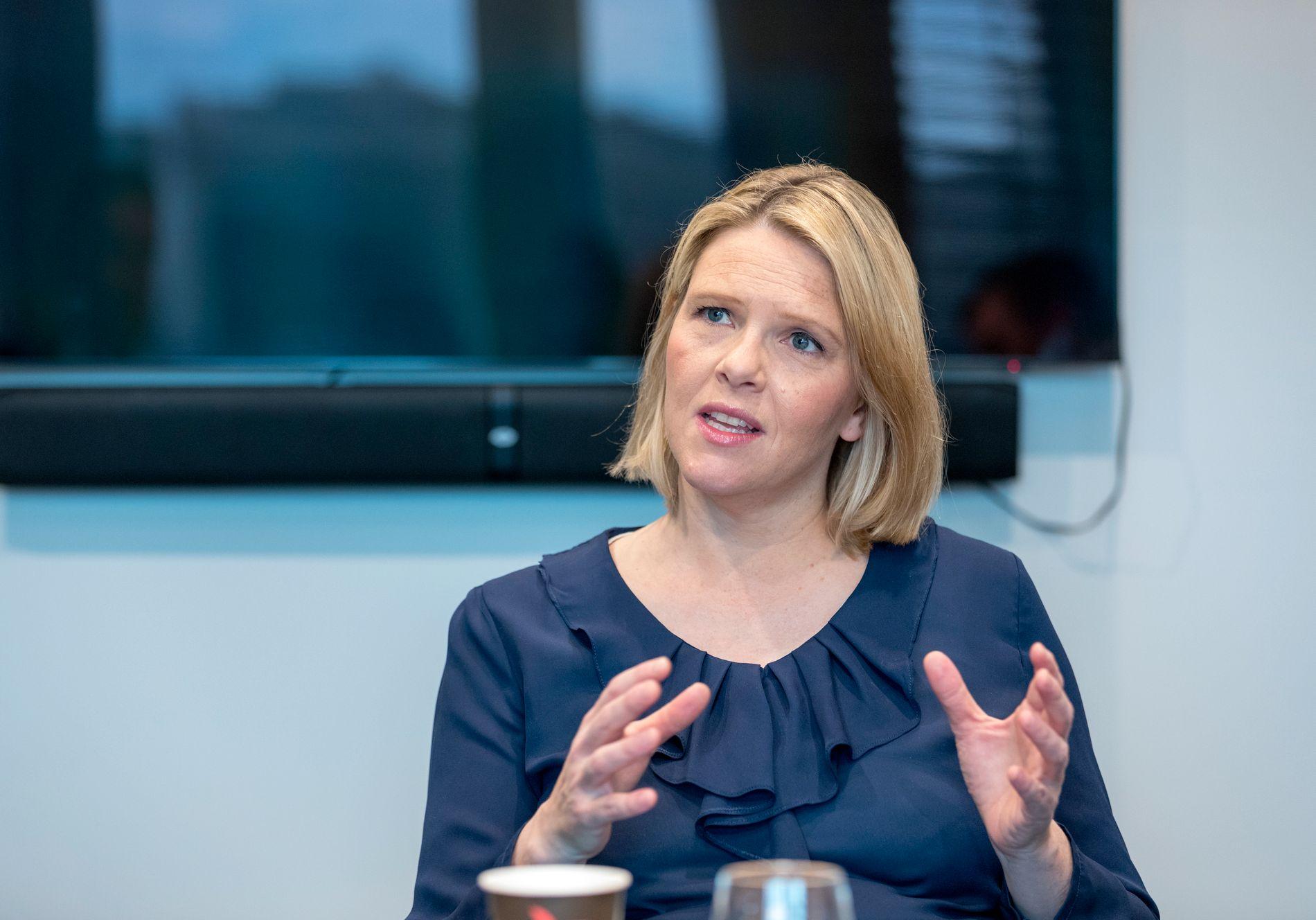 FÅTT BREV: EU har sendt et brev til innvandringsminister Sylvi Listhaug (Frp) der hun oppfordres til å øke innsatsen for kvoteflyktninger.