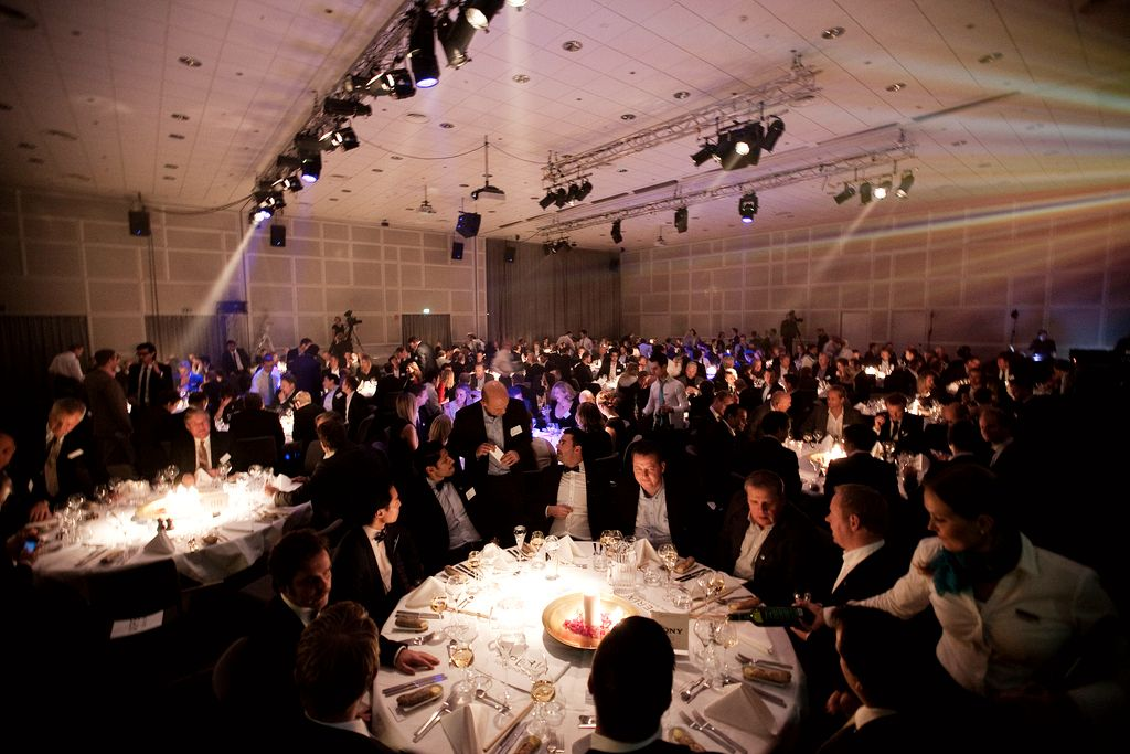 Vi arrangerer alt fra prisutdelinger til tredagers bransjetreff.  Foto: Mediehuset Tek