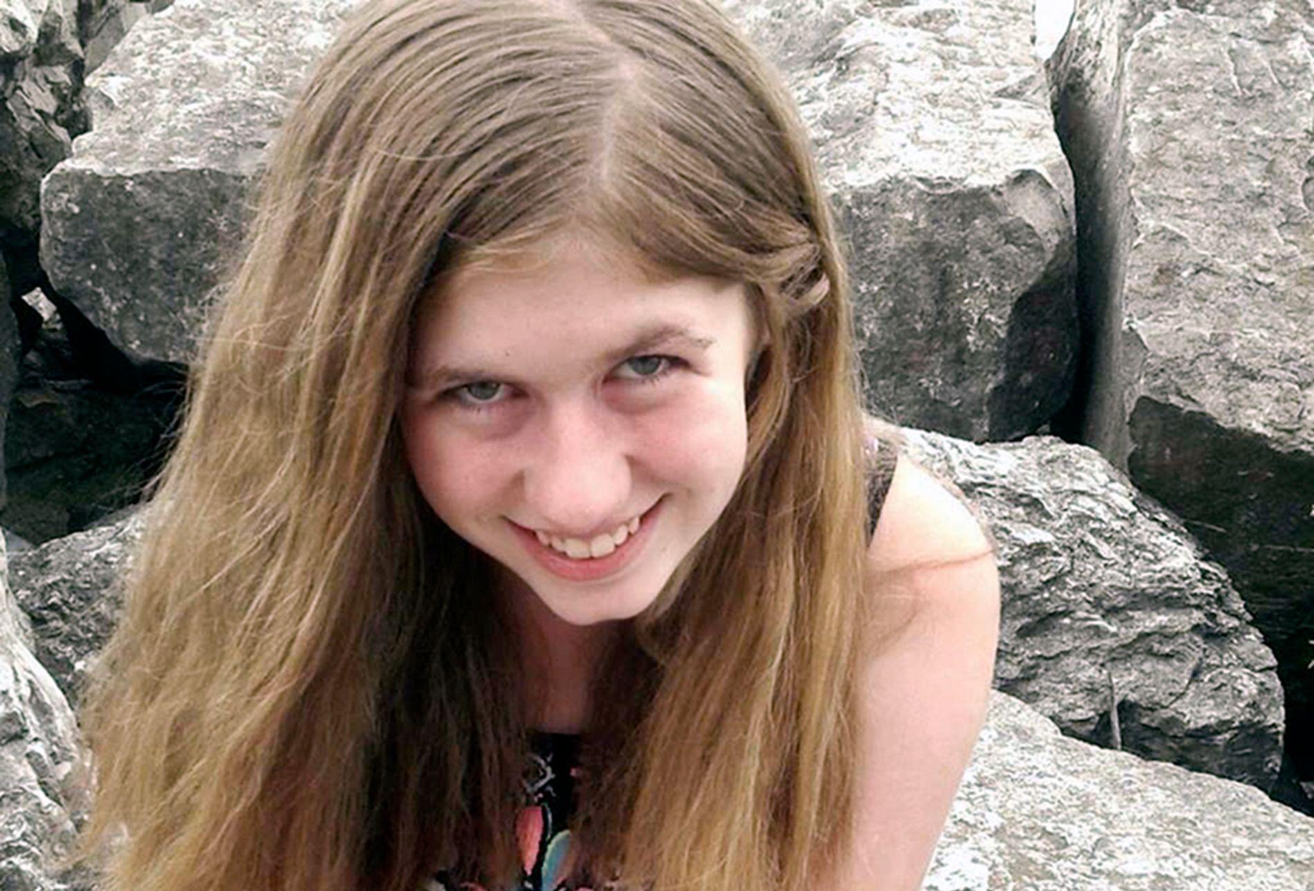 SAVNET: Jayme Closs, er mistenkt bortført etter at foreldrene hennes ble funnet døde mandag.