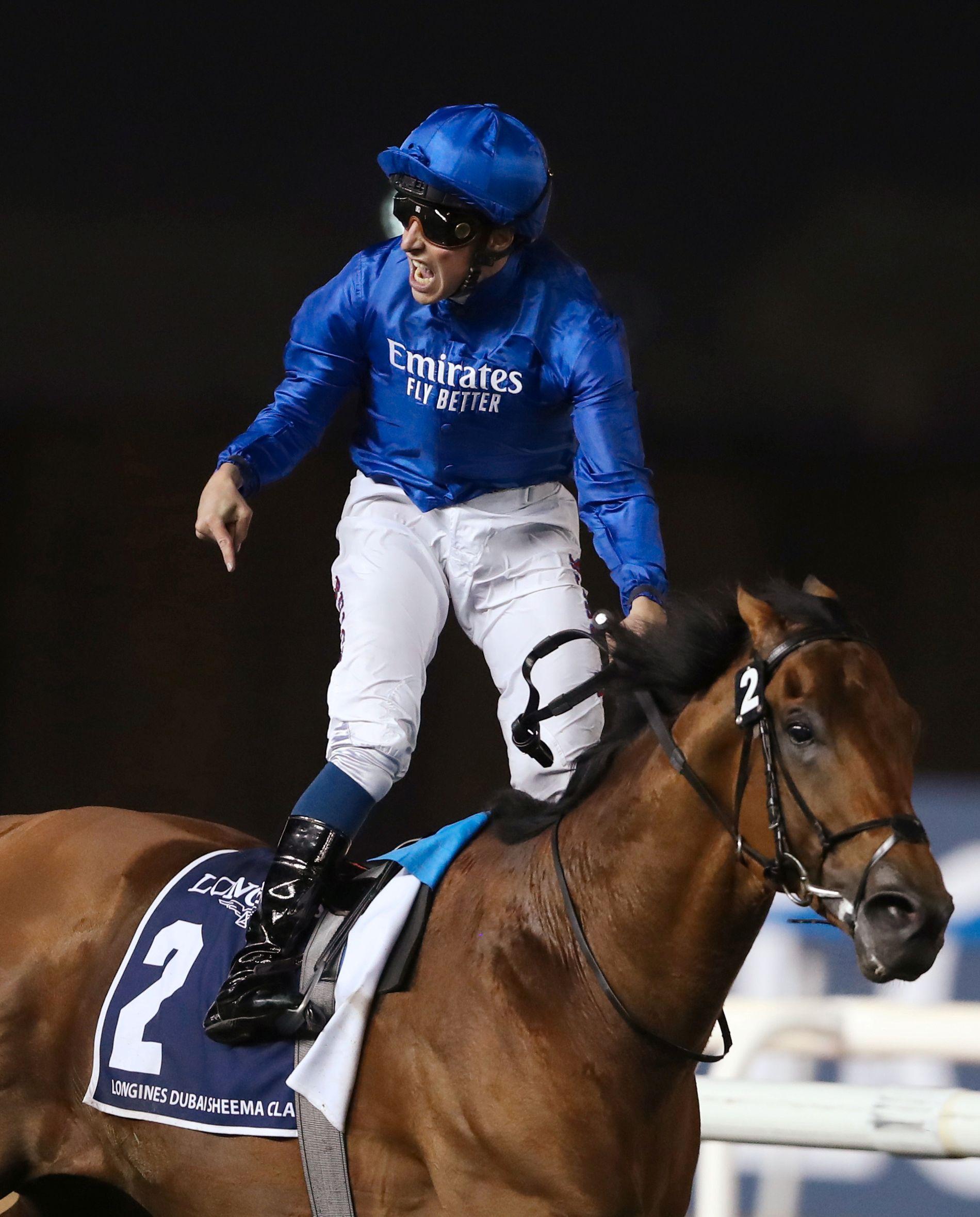 JUBLER: William Buick feirer seieren i Longines Dubai Sheema Classic på Old Persian.