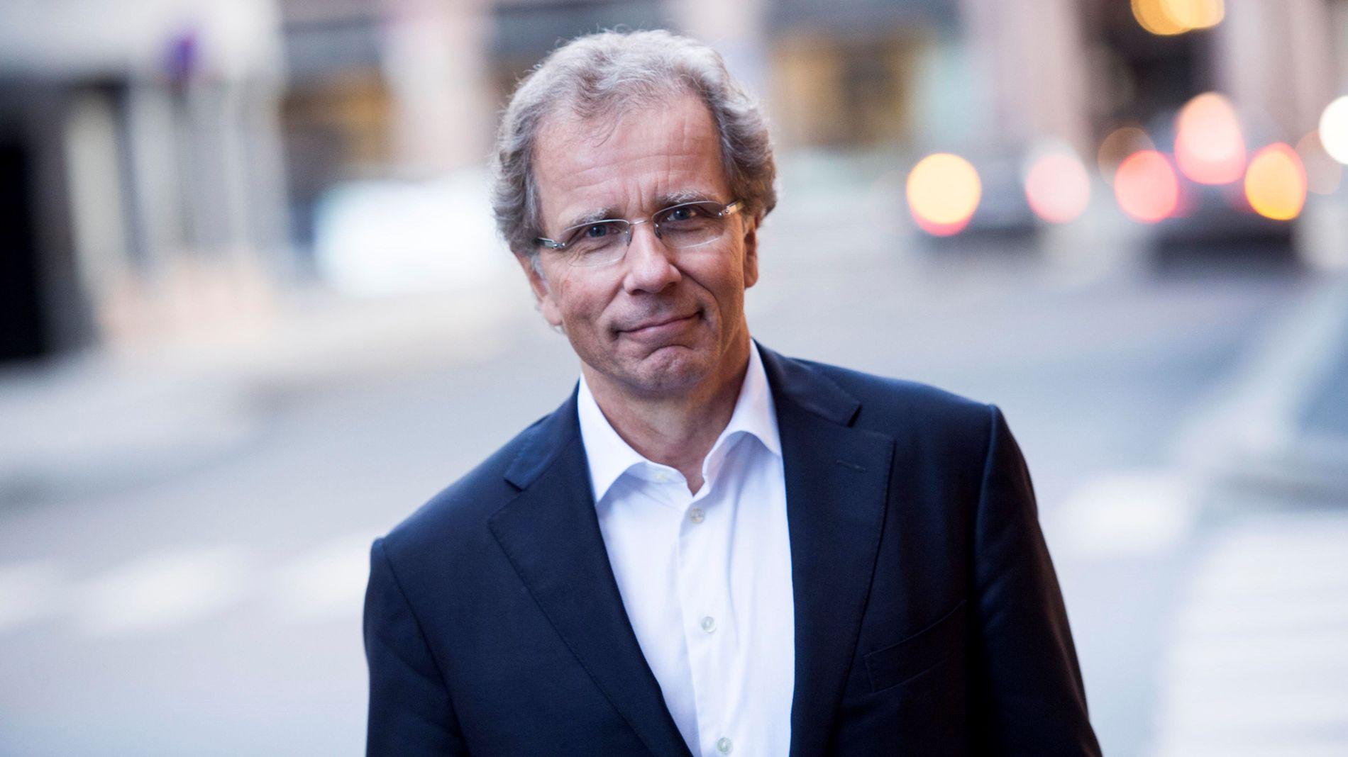 INGEN SOVEPUTE: Otto Søberg, administrerende direktør i Eksportkreditt Norge.