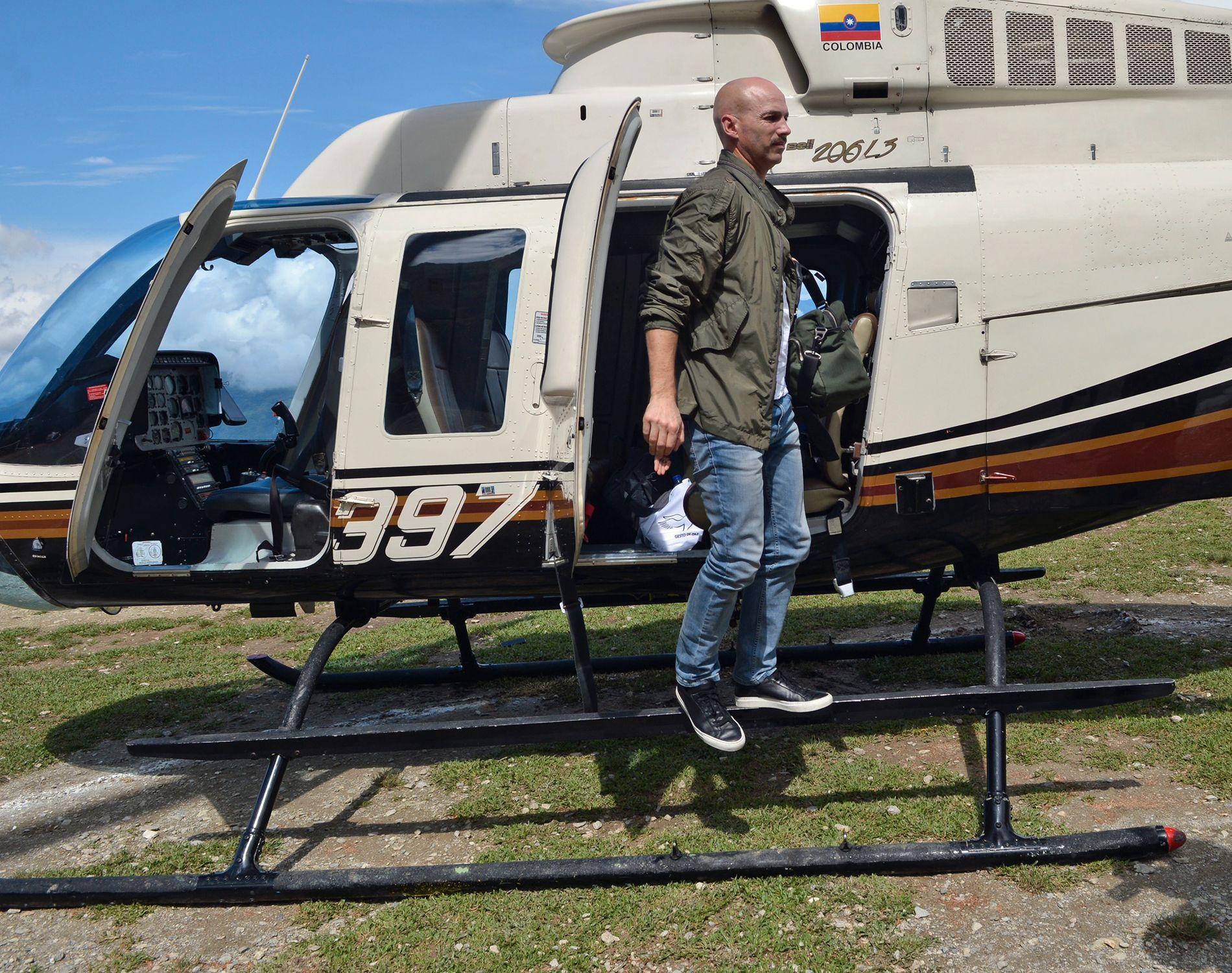 SPESIALOPPDRAG: Norges spesialutsending Dag Nylander har i fire å jobbet for fred i Colombia. Mandag reiser han til Havana i et forsøk på å redde fredsavtalen. Foto: Privat.