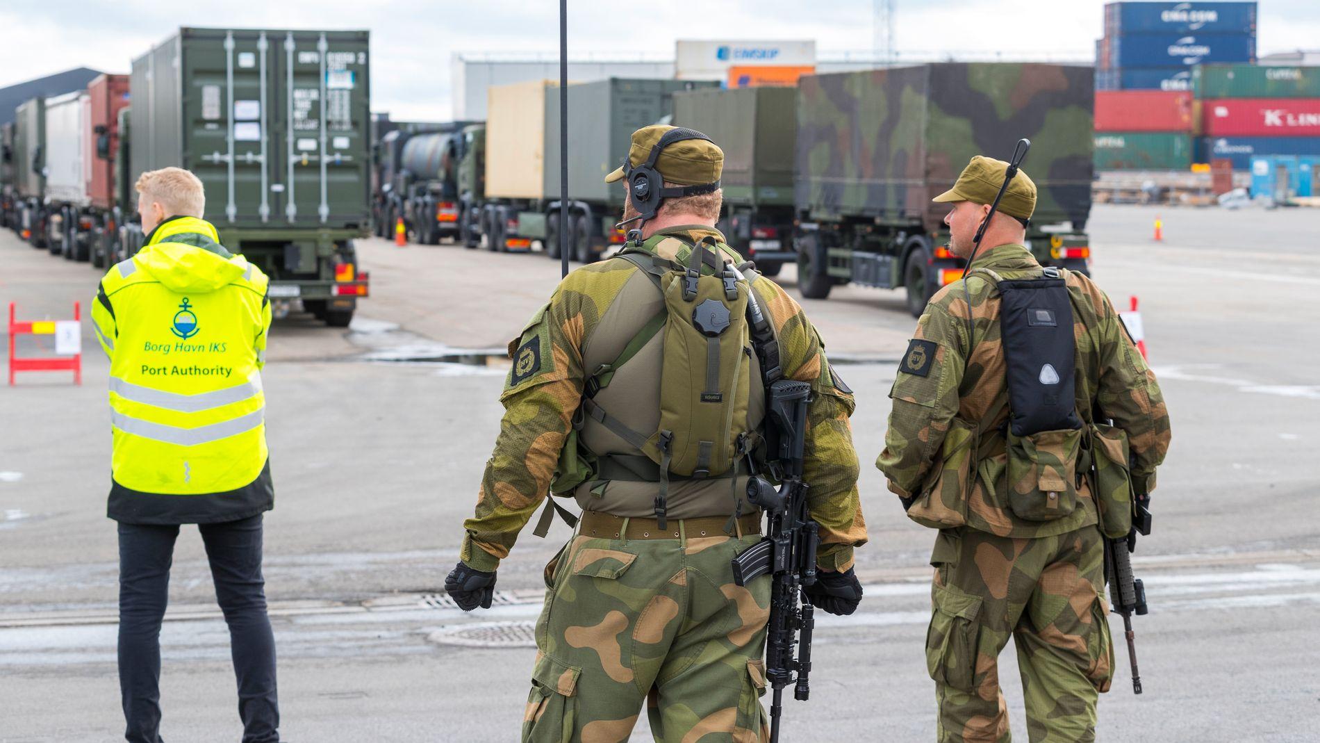 c4a43ca9 NATO-øvelsen: «Murinus» angriper - Norge forsvares av 53.000 NATO ...