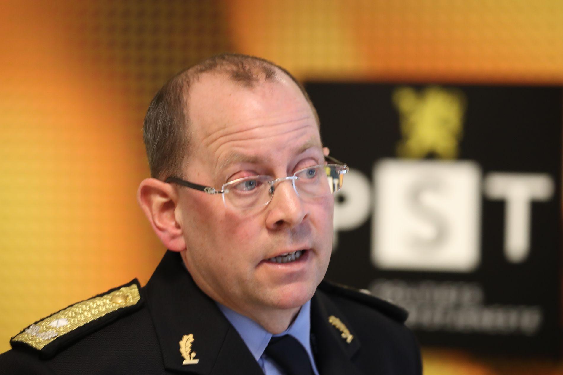 POLITI: Visepolitimester Bjørn Vandvik. Her i forbindelse med Warasaken.