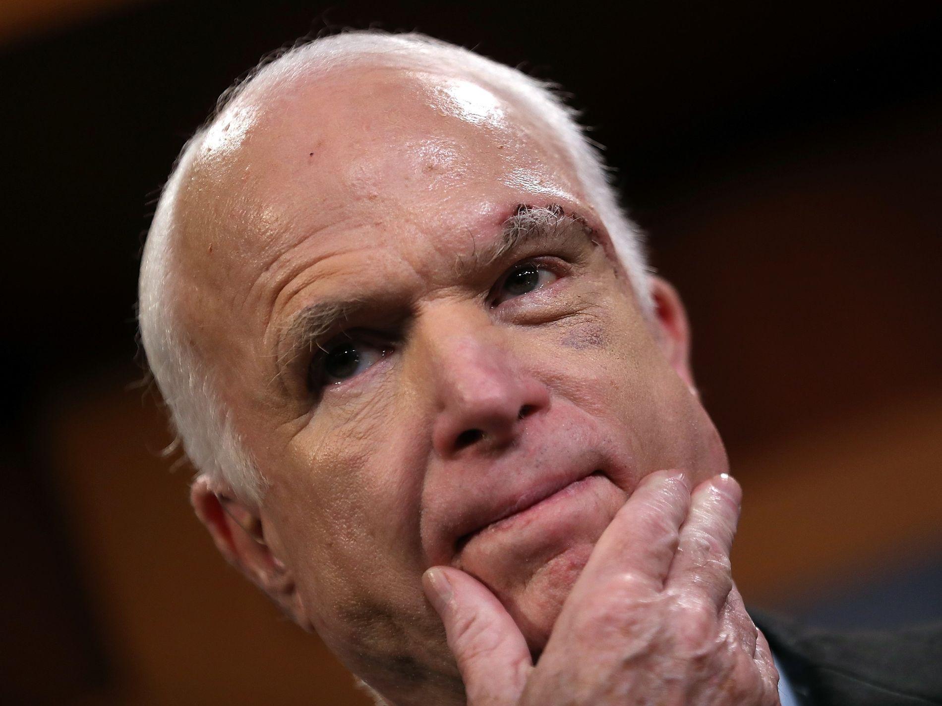 SENATOR: John McCain har representert Arizona i over 30 år i Kongressen i Washington, D.C.