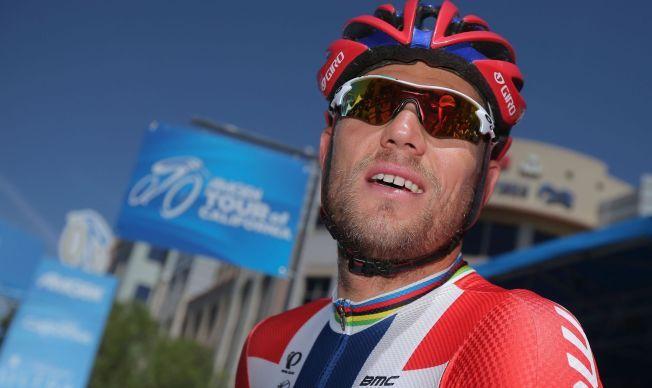 TØFF DAG PÅ JOBBEN: Thor Hushovd, her avbildet under Amgen Tour of California i mai, klarte ikke å hevde seg i toppen tirsdag.