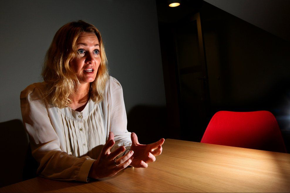 UENIGHET I STYRET: Anne Berit Figenschau sier det har vært intern uenighet i NIF-styret om reiseregninger og bilag skulle offentliggjøres.