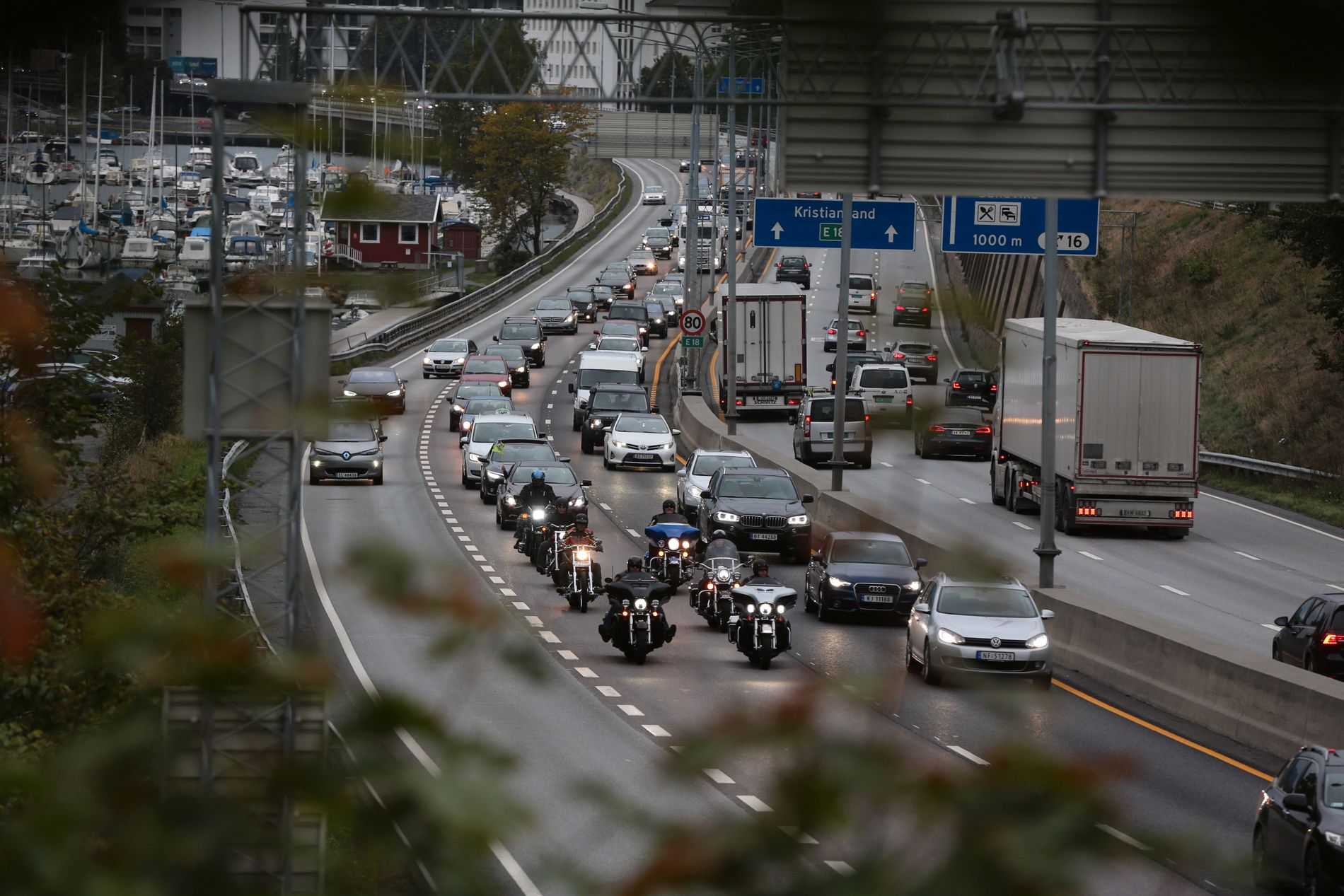 MARGINALT: Transportøkonomisk institutt mener regjeringens bompengeskisse i det store og det hele vil ha liten effekt på bilistenes hverdag.