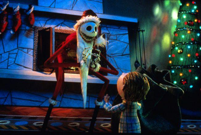 ANNERLEDES JUL: Jack Skellington prøver å gjøre julen mer som Halloween.