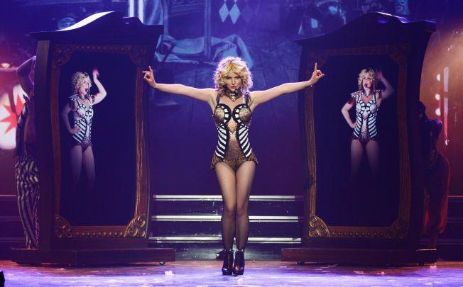 PIECE OF ME: Britney Spears ligger ikke på latsiden i Las Vegas. I løpet av to år skal hun holde 140 konserter på Planet Hollywood i gamblingbyen.
