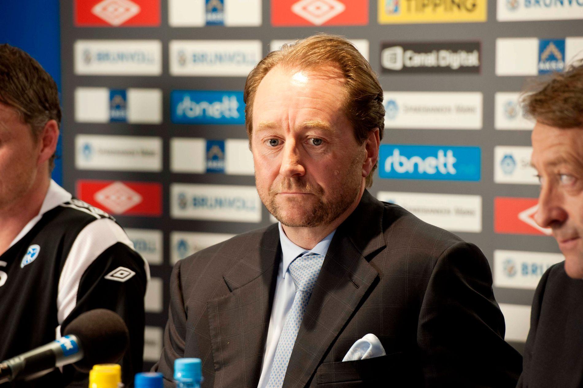 SPORTSINTERESSERT: Kjell Inge Røkke.