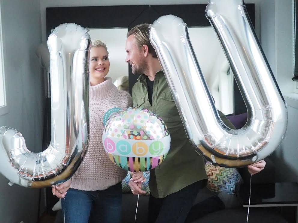 BLIR FORELDRE: Bloggeren Julianne Nygård og ektemannen Ulrik Kvalheim Nygård.