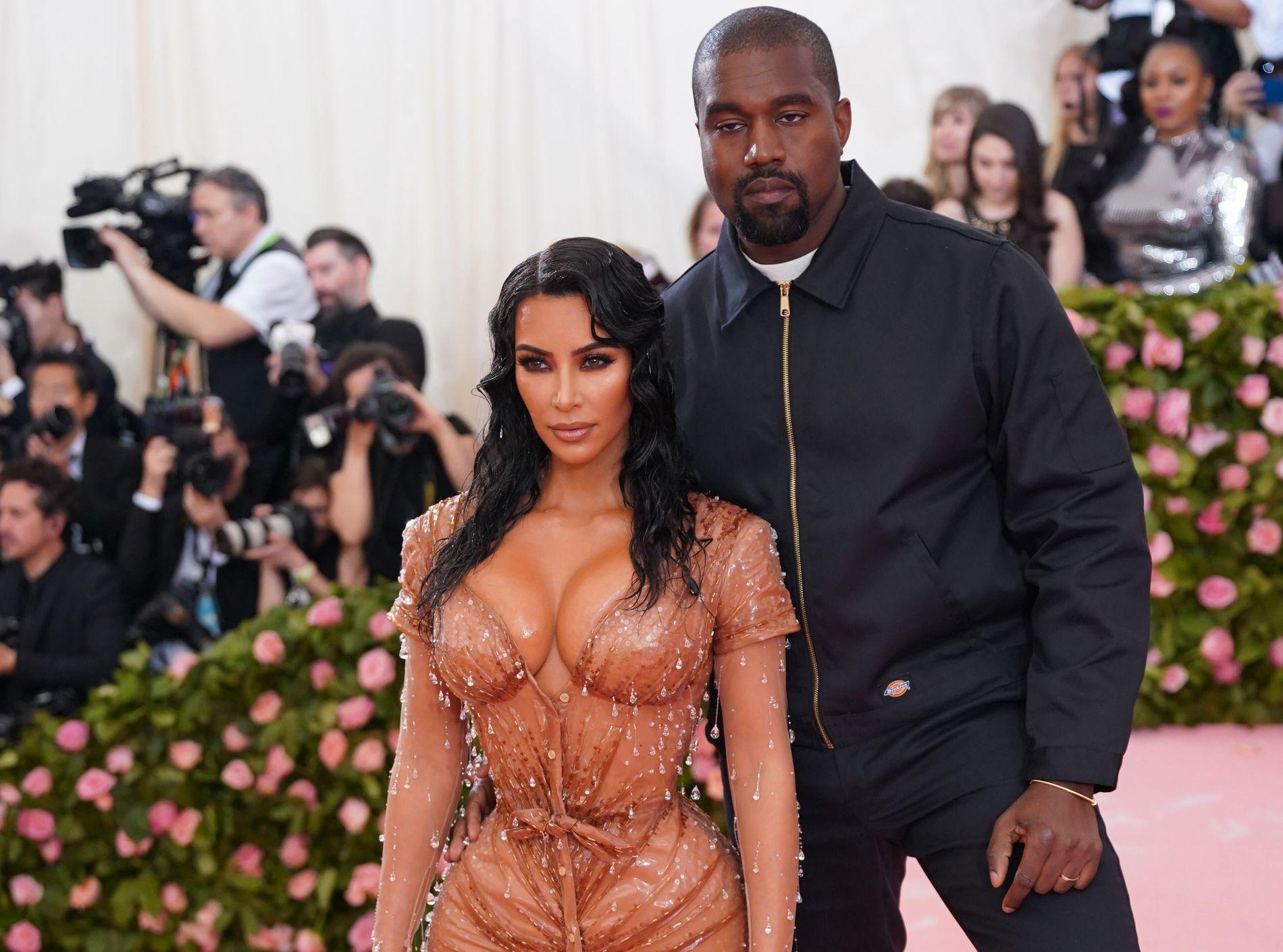 FORELDRE IGJEN: Kim Kardashian West og Kanye West på Met-gallaen tidligere i uken.
