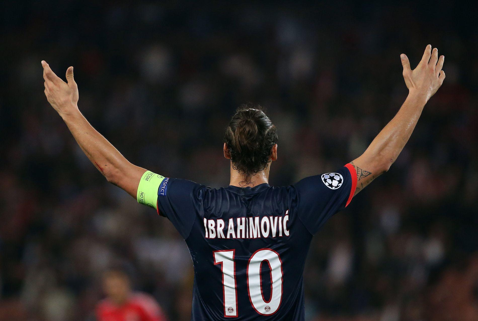 VINNEREN: Zlatan Ibrahimovic har vunnet overalt, i hvert fall serie og cup. Nå skal han hjelpe Manchester United tilbake på tronen. Foto: AFP