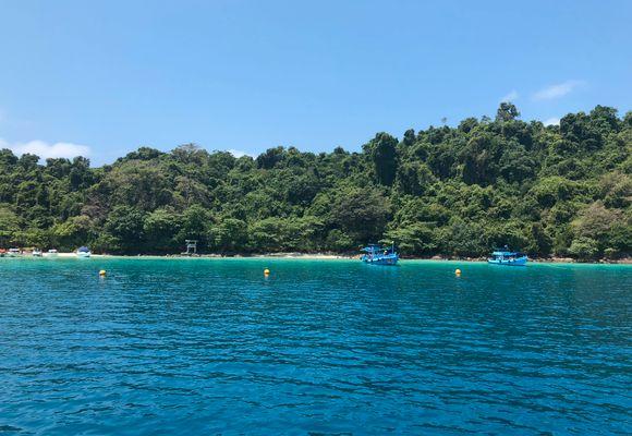 Eventyr under vann i østlige Thailand