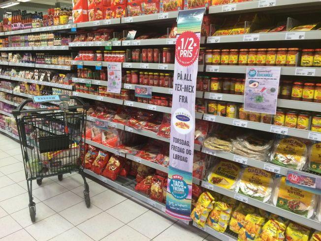 ØKER PRISENE: Svekket kronekurs vil sende prisene oppover på importert mat i vinter.
