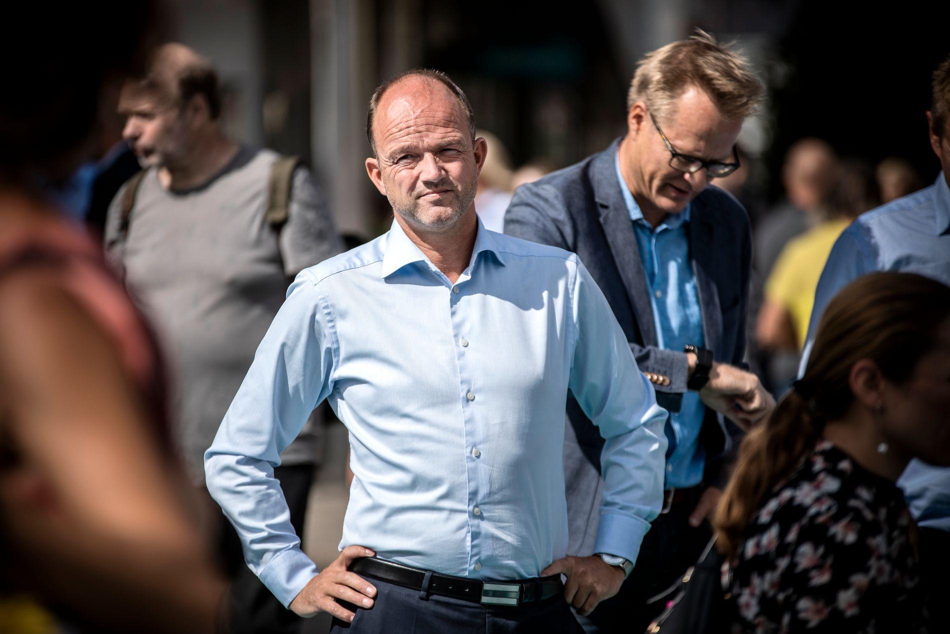 SLÅR ALARM: Fungerende NHO-sjef Ole Erik Almlid liker dårlig at så få unge i Norge og Europa ikke synes det er essensielt å bo i et demokrati.