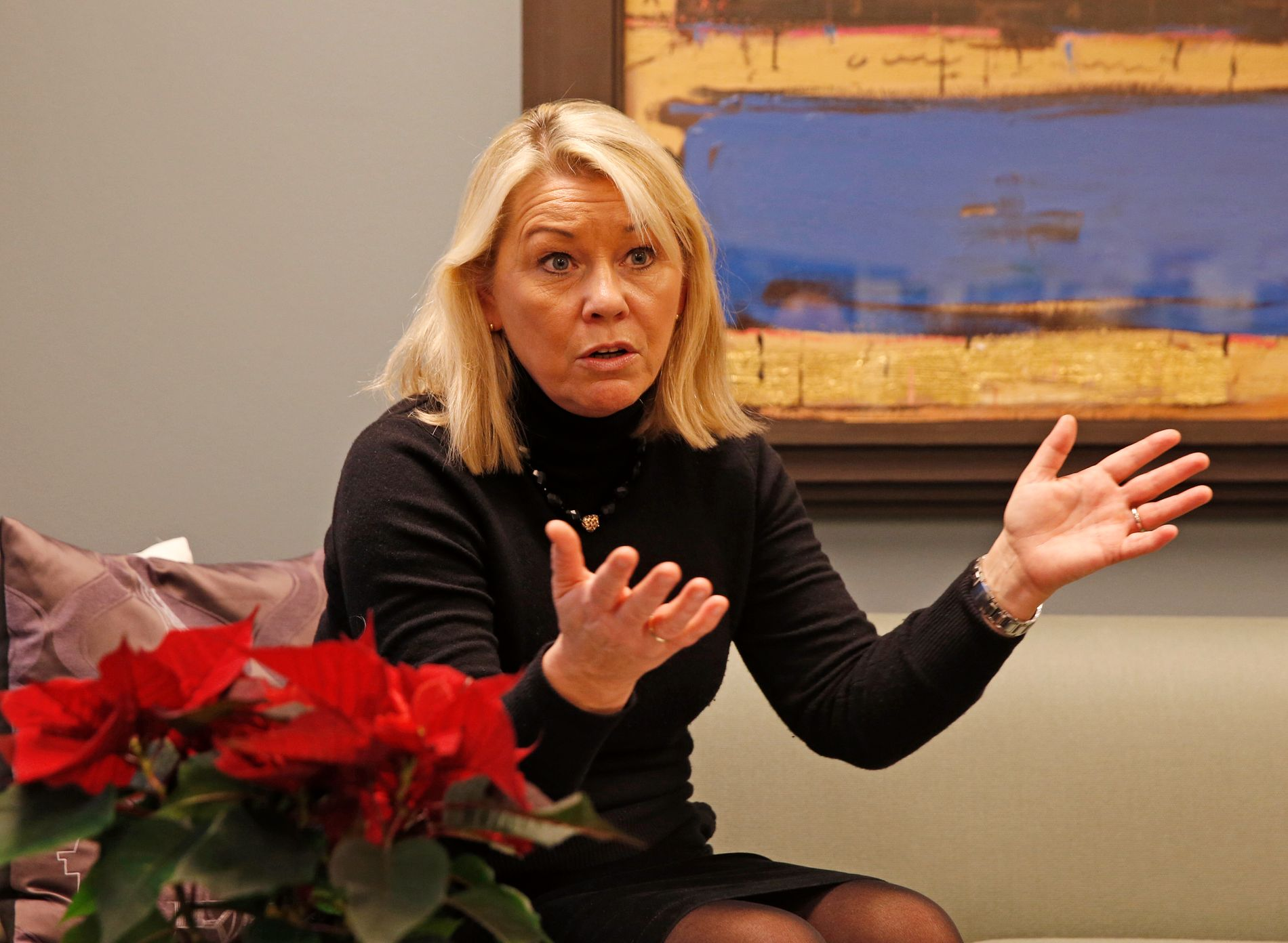Kommunal- og moderniseringsminister Monica Mæland (H) har allerede varslet at flyttesjauen kan bli vanskelig å gjennomføre.