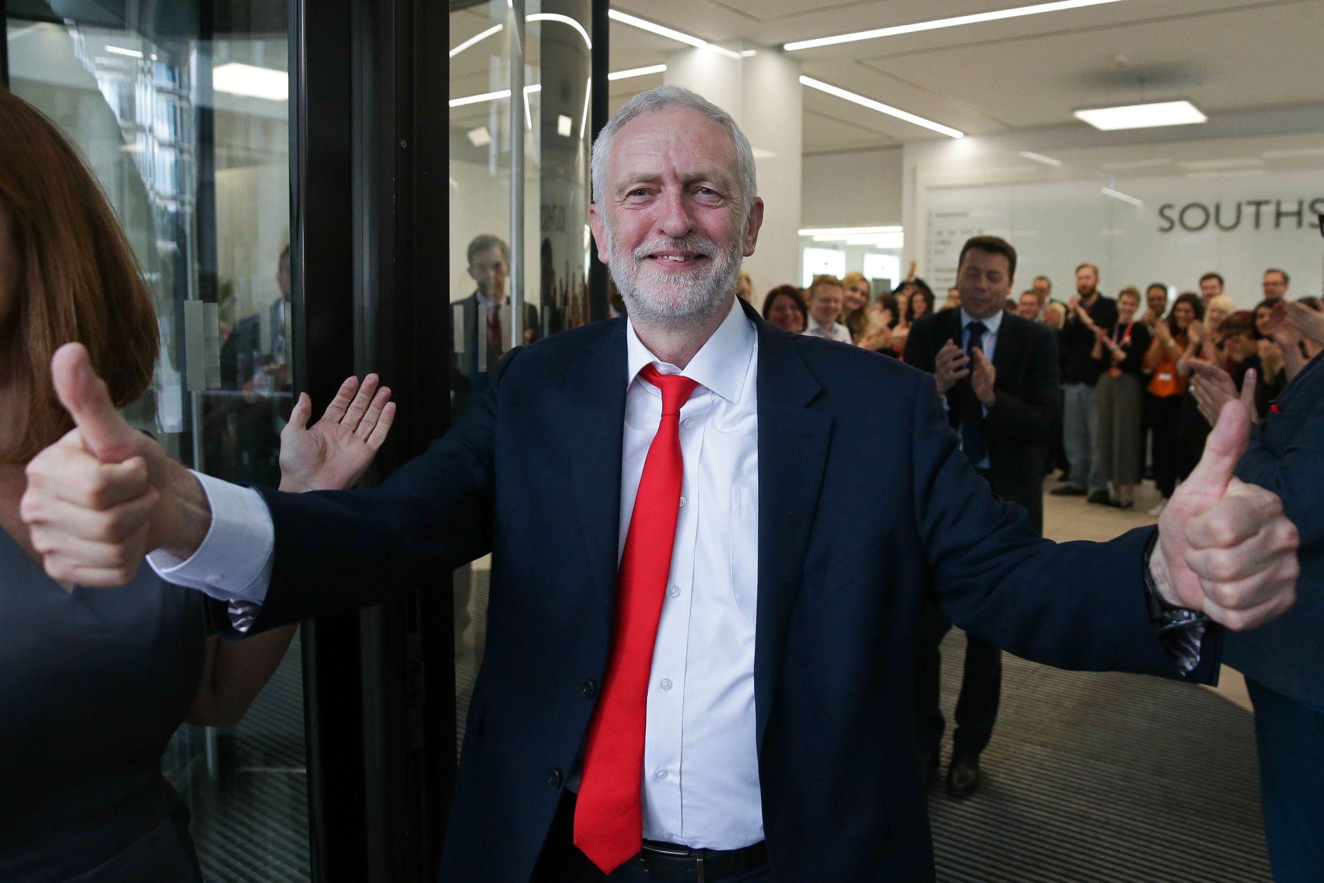 BORGARÅND: – Labour-lederen Jeremy Corbyn personifiserer venstrevarianten av borgarånd, ein type borgarånd som ikkje fortener å bli dradd ned i søla, mener kronikkforfatteren.