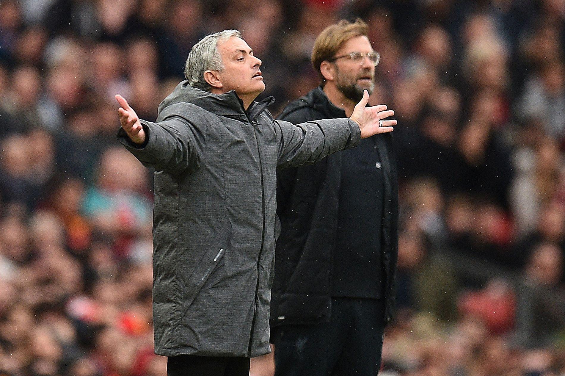 HVOR ER TROFEENE? José Mourinho har mer respekt for Liverpools europacupvinnende lag enn dagens troféløse utgave.