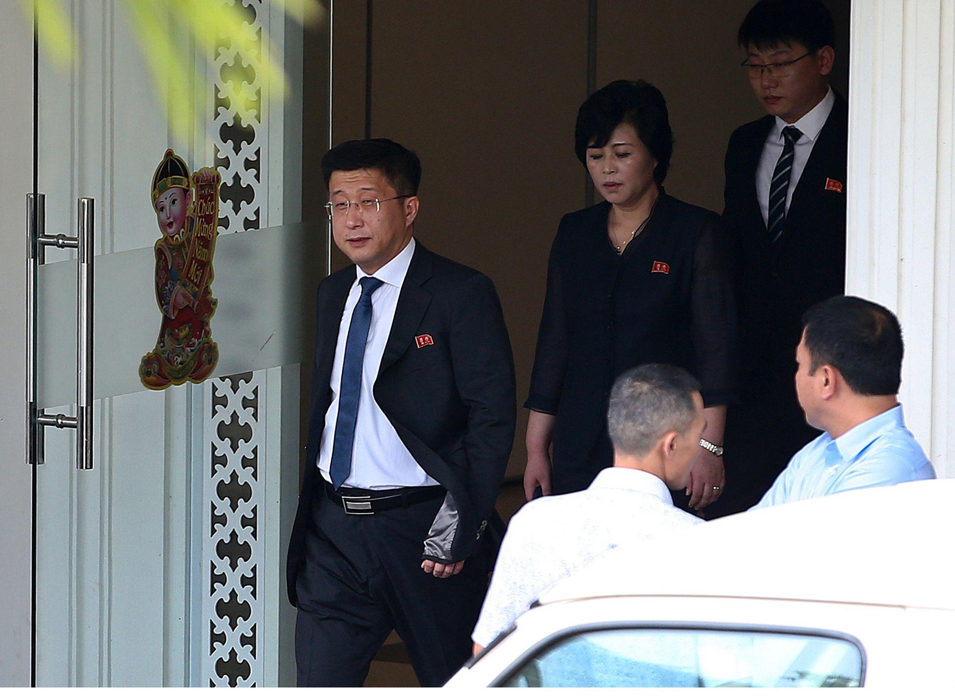 I HANOI: Kim Hyok Chol var Nord-Koreas spesialutsending under toppmøtet i Vietnam.