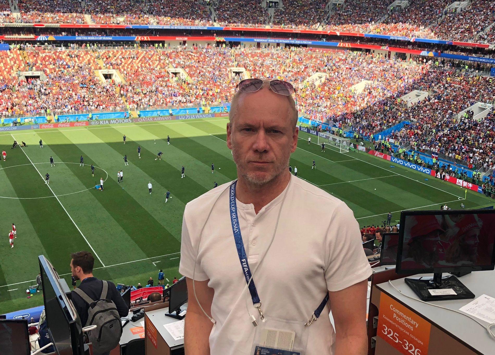 I RUSSLAND: Trond Johannessen.