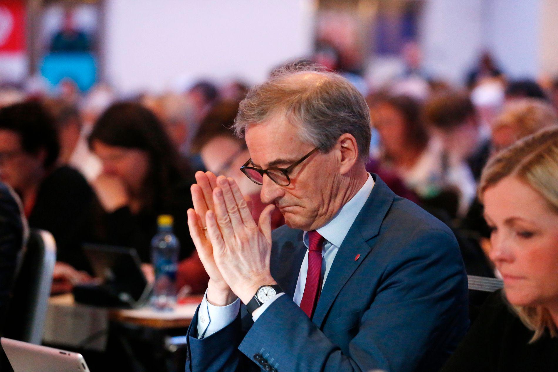 TAPTE: Ap-leder Jonas Gahr Støre tapte kampen om partiets oljepolitikk
