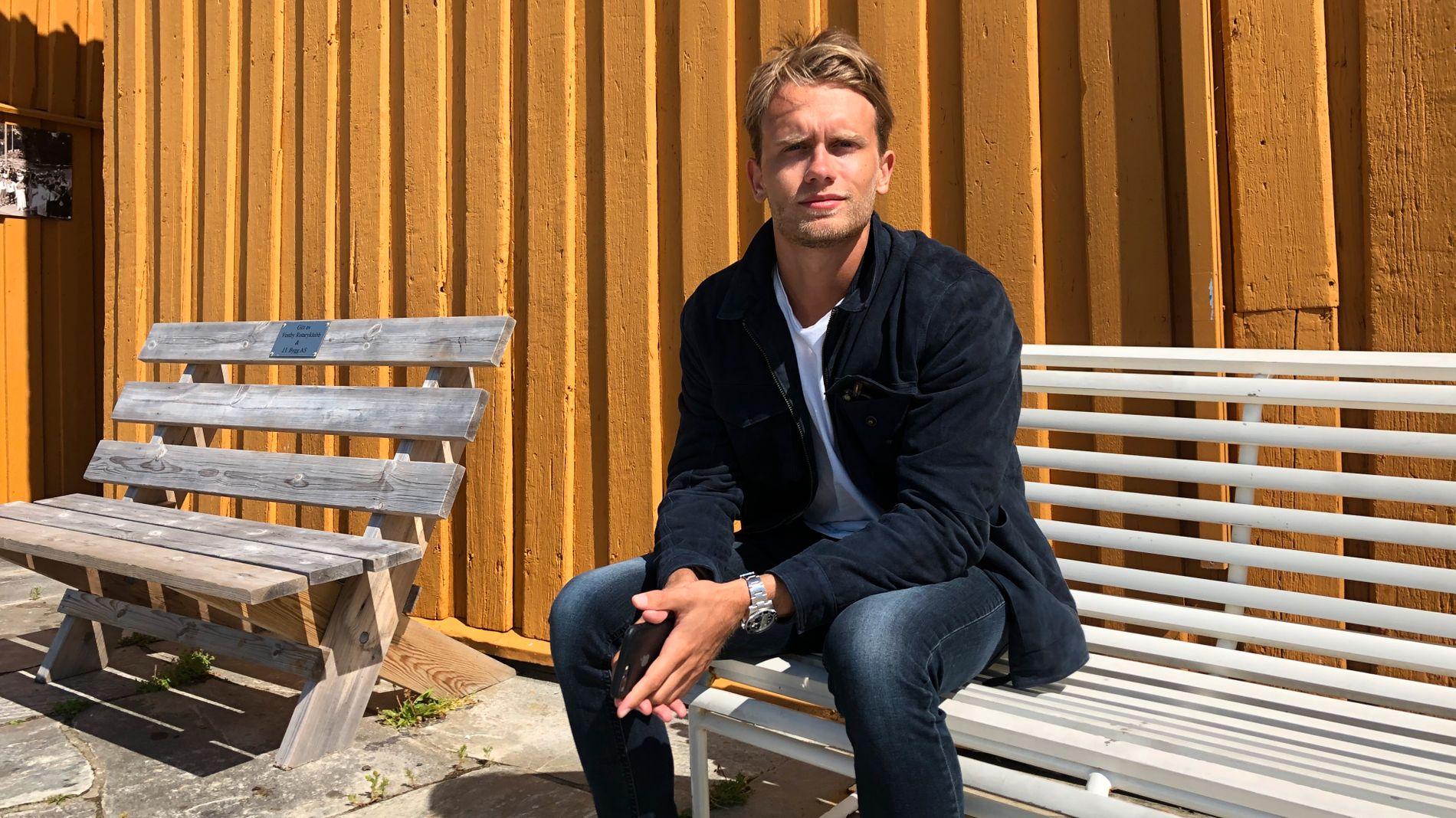 STORE MULIGHETER: Mikkel Marstrander Biong, daglig leder i Chabber Norge, ser gode utsikter for vekst innen eventer og catering i andre norske byer utenom Oslo.