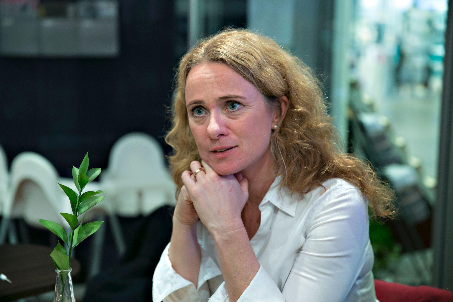 Arbeids- og sosialminister Anniken Hauglie (H) kaller det pressede arbeidsmarkedet «en utfordring».
