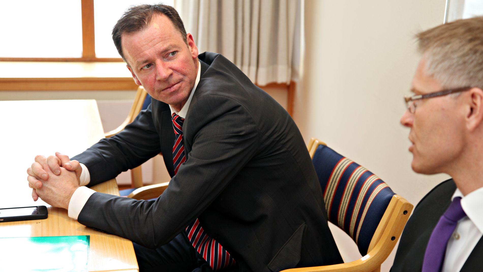 TIDLIGERE POLITIKER: Roger Ingebrigtsen har erfaring som statssekretær for Arbeiderpartiet. Her fra 2011.