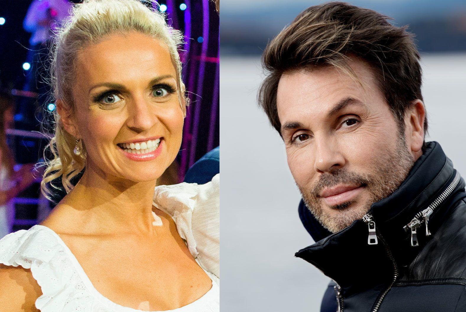 TV-KONKURRENTER: Nadya Khamitskaya Andersen og Jan Thomas.