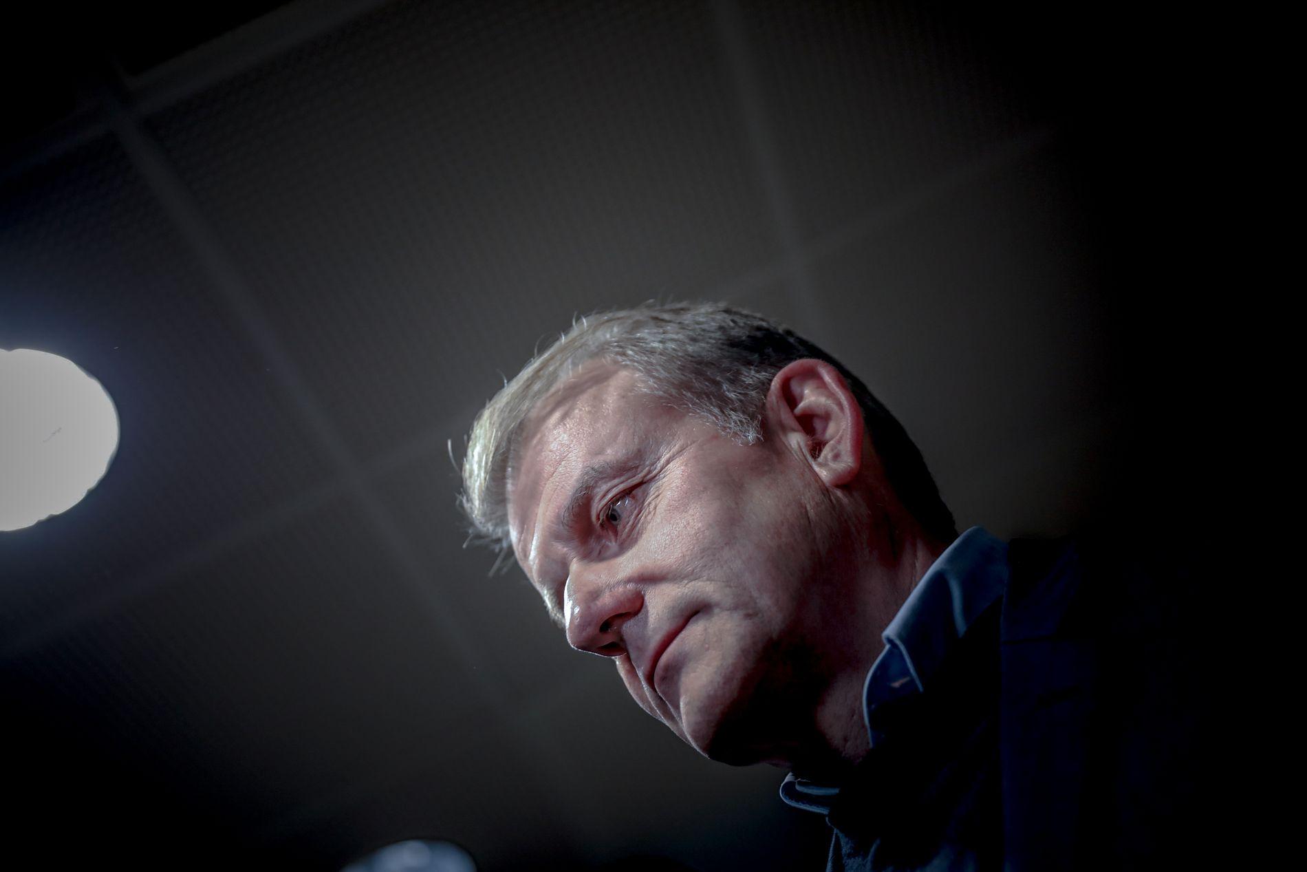 BEKREFTER PENGESMELL: President Erik Røste og skistyret har bedt alpint ta grep rundt den økonomiske situasjonen. Detaljene i avskjedsbrevet til Trond Olsen ønsker han ikke kommentere.