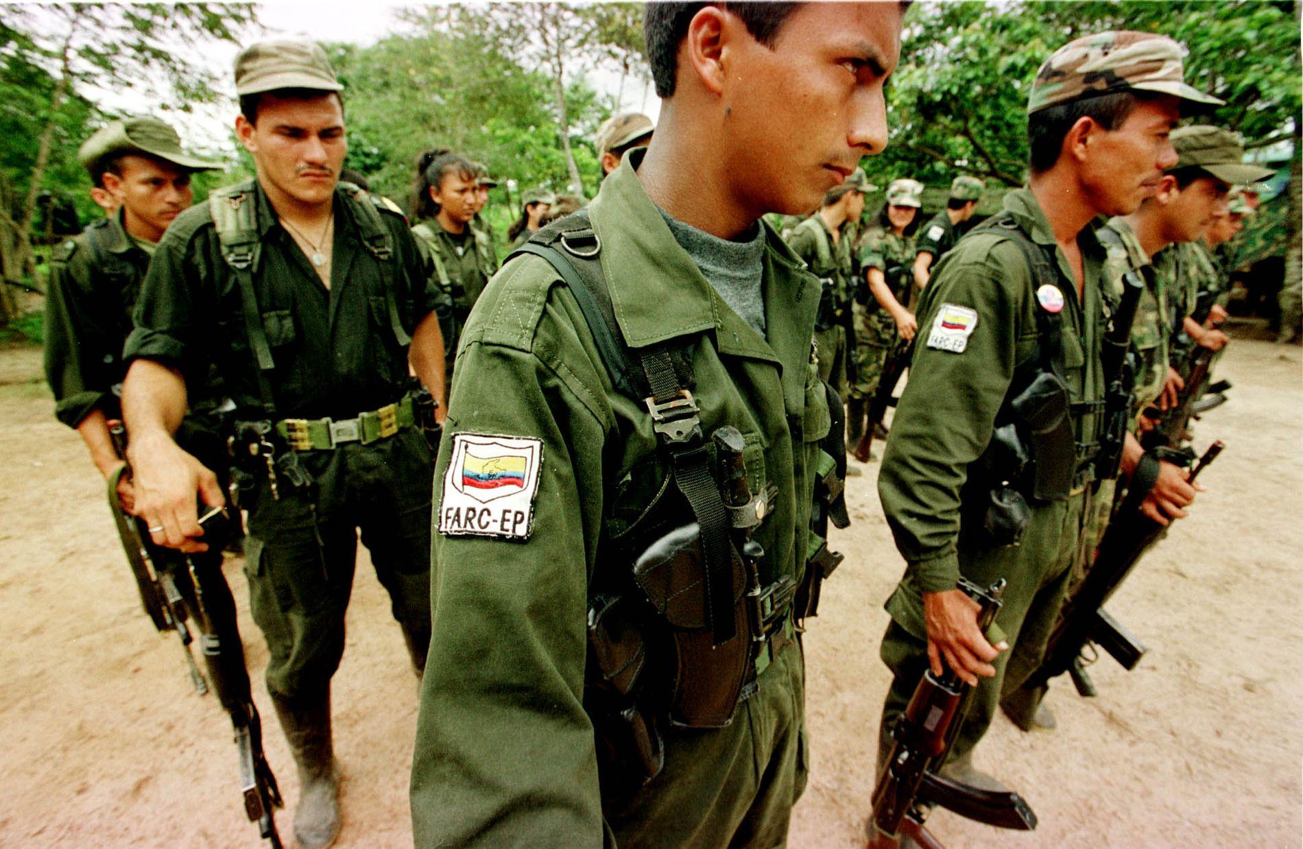BLIR POLITISK: FARC-geriljaen, som i flere år har vært i borgerkrig i Colombia, blir nå et politisk parti.