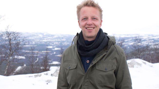 IVRIGE DELTAKERE: - Mange av dem vi har testet har vært så ivrige. En har kjøpt en spark for å bli mer norsk, en annen har hørt på P3 hver dag for å lære seg norsk, sier en entusiastisk Fridtjof Nilsen.