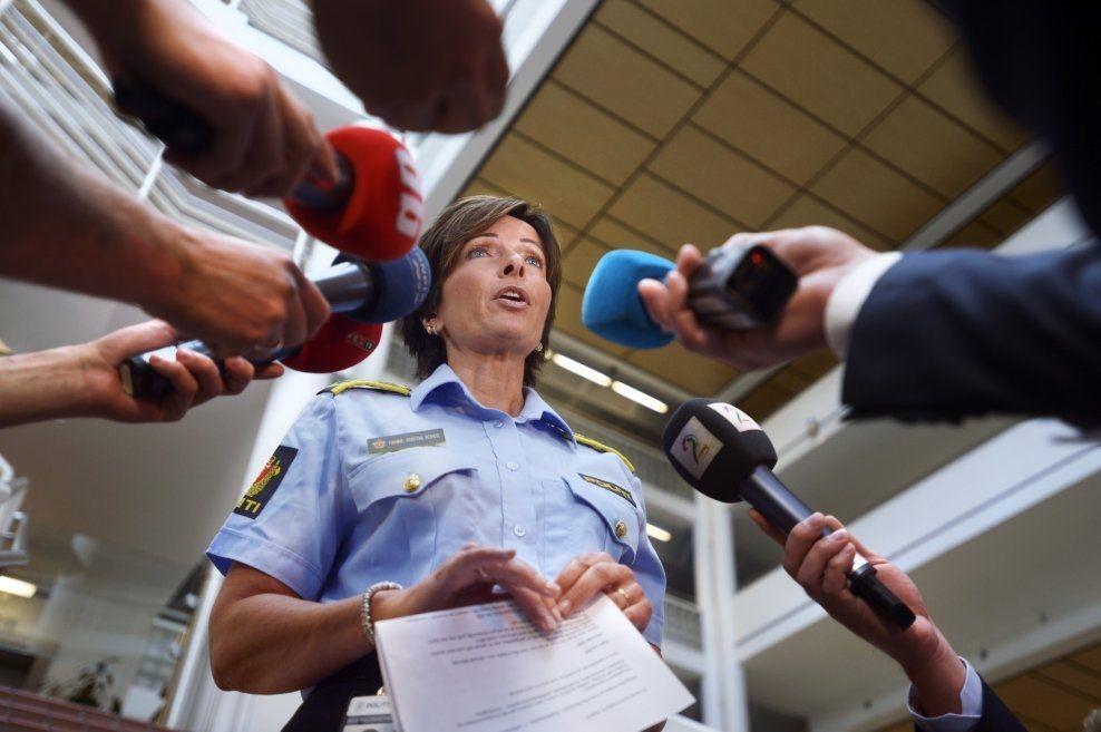 ANMELDT: Hanne Kristin Rhode er anmeldt til Spesialenheten for sin rolle i Sigrid-saken. Bildet er fra en pressekonferanse i saken. FOTO: HELGE MIKALSEN/VG