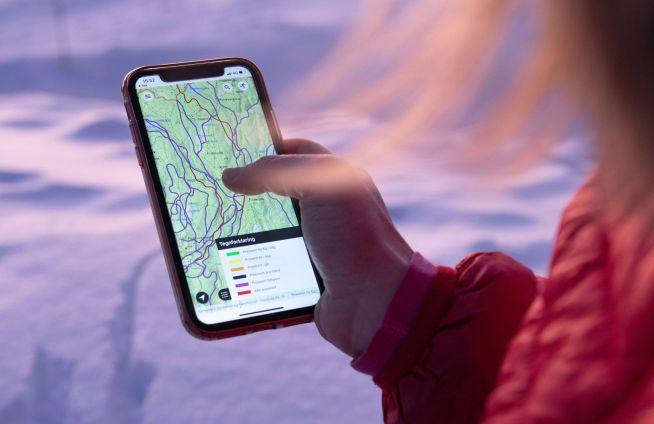 I appen får du oppdatert innhold fra Skiforeningen, blant annet vises preppestatus og føremeldinger på en enkel og brukervennlig måte.